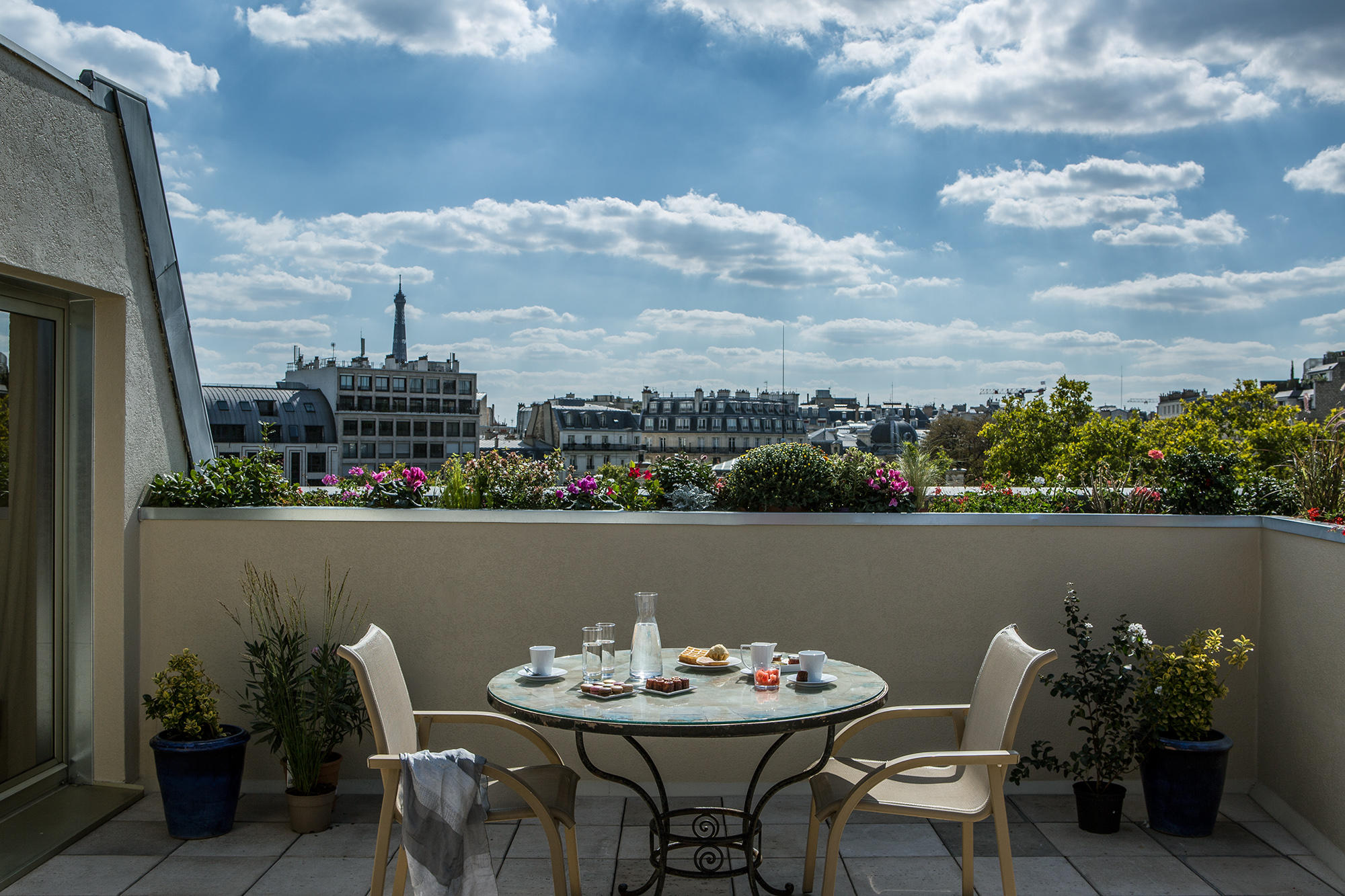 Hotel Royal Garden Suite Junior Terrasse privative